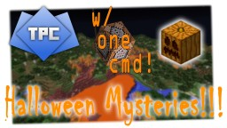 Halloween Mysteries in ONE COMMAND!!! | Minecraft 15w43c Minecraft Project