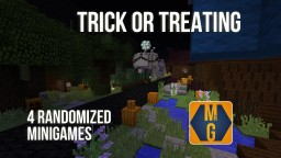 Trick-or-treating map (Halloween special), includes 4 randomized minigames! Minecraft Map & Project