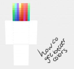 How I Shade Hair -//How To Get Better Colors Minecraft Blog Post
