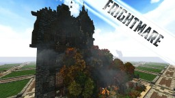 Frightmare Haunted House for Halloween #WeAreConquest Minecraft Map & Project