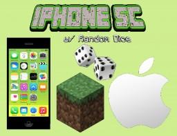 iPhone 5c + Dice Minecraft Map & Project