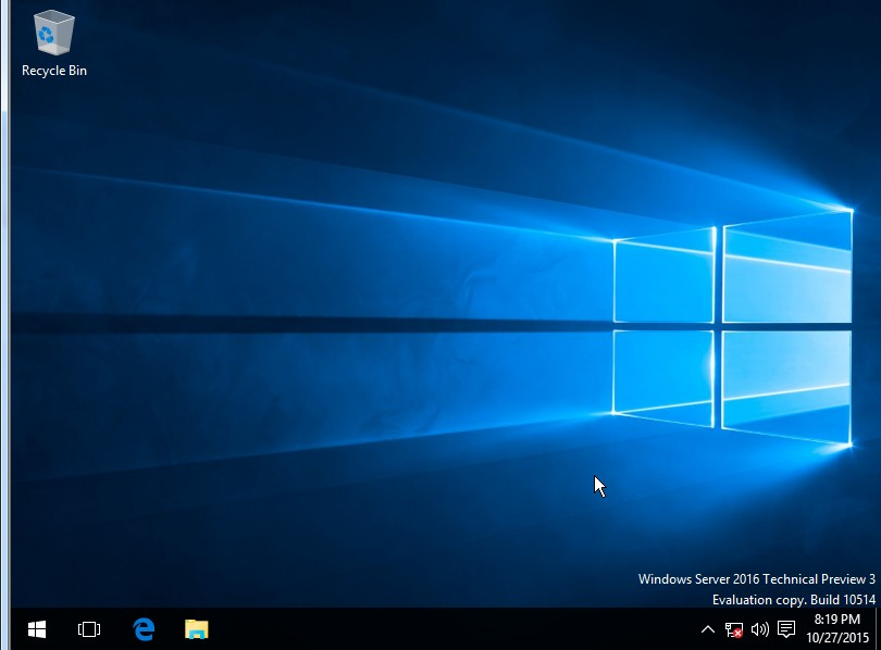 Review: Windows Server 2016 (Currently in Tech  Preview 3) Minecraft