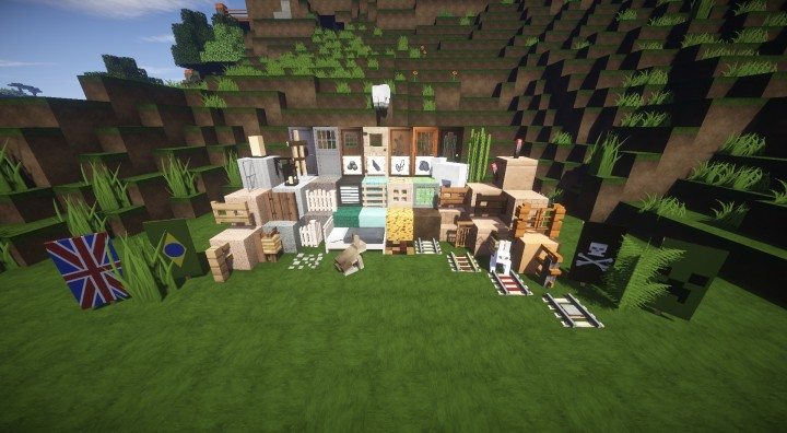 New 1.8 blocks and models!
