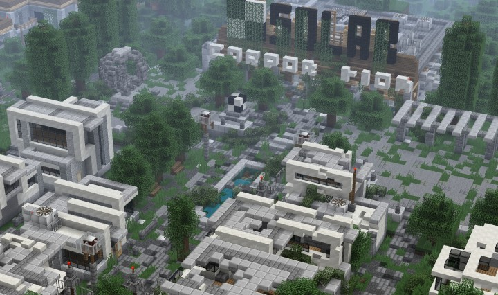 Explore the ruins of a once great corporation and find the secrrets of their demise.