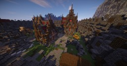 Faction Spawn | Build by Team Sublis Minecraft Map & Project
