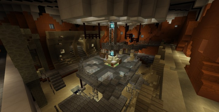 The 11th Doctor S Tardis Console Room Minecraft Project