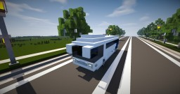 Vehicle - Coach Bus (with interior!) Minecraft Project