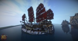 Crimson Tide - Orc Ship Minecraft Project
