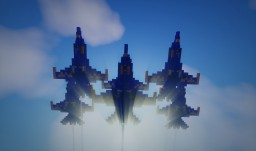 F/A-18 Blue Angels Minecraft Map & Project