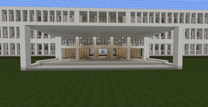 how to build a high school in minecraft