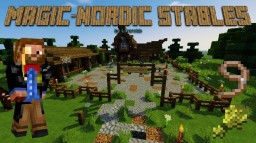 Magic-Nordic Stables Minecraft Map & Project