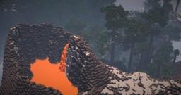 Tropix Survival Map - 1024x1024 - Custom Island Terrain Minecraft Project