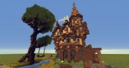 Medieval farmhouse plot Minecraft Project