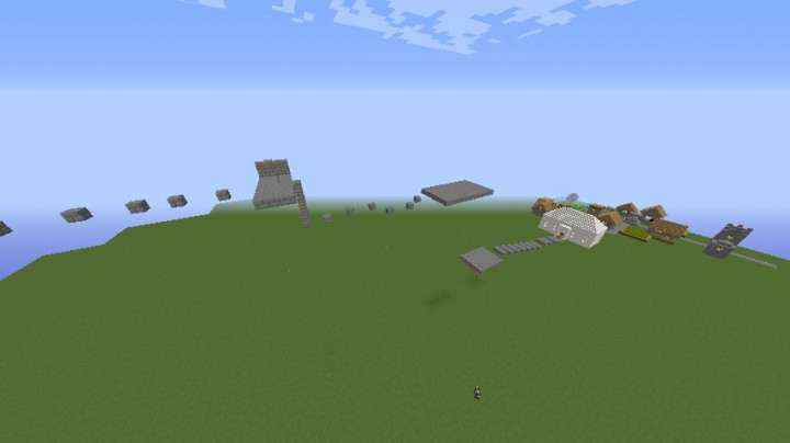 minecraft parkour how to build