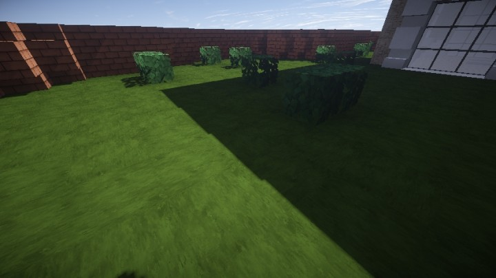 Removed stripy garden.