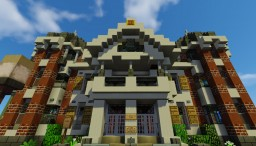 Victorian House (Schematic Available) Minecraft Project