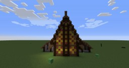 Ashlander Cabin Minecraft Map & Project