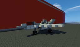 Akatsuki Fighter Jet Minecraft Map & Project