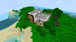 Modern Redstone House Minecraft Project