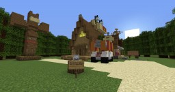Gravity Falls: The Mystery Shack Minecraft Map & Project