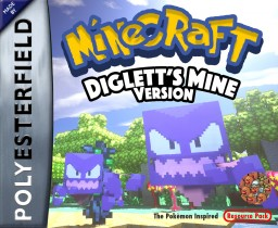 DIGLETT'S MINE - The Pokémon Resource Pack Minecraft