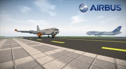 Airbus A320neo [1:1] Minecraft Map & Project