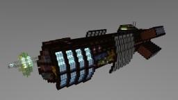 Athena-class Electronic Warfare Frigate [Aliquam] Minecraft Project