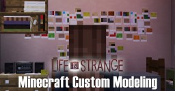 Minecraft Custom Modeling: Life Is Strange (Max's Room) Minecraft Map & Project
