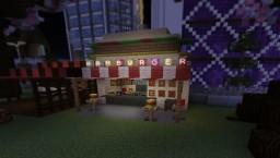 Hamburger stand Minecraft