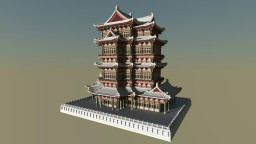 Chinese ancient architecture 2 Minecraft Map & Project