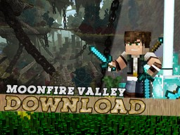 Moonfire Valley - Halloween Special Minecraft Map & Project