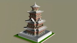 China Architecture 1 Minecraft