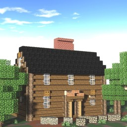 John Adams Birthplace, Quincy, Massachusetts, USA Minecraft Map & Project