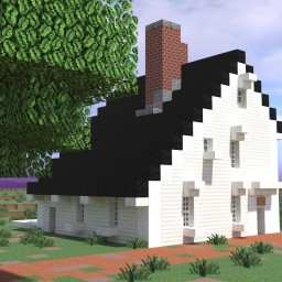 John Quincy Adams Birthplace, Quincy, Massachusetts, USA Minecraft Map & Project
