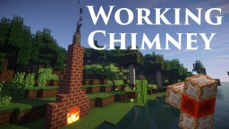 Smoking Chimney - 3 easy commands Minecraft Project