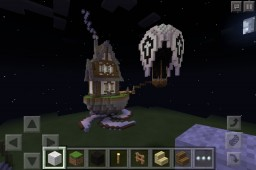 Small, Steampunk-ish House - Pocket Edition Minecraft Map & Project
