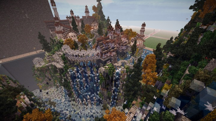 Minecraft Lord Of The Rings Rivendell Minecraft Project