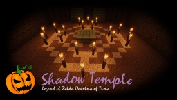 Zelda | Ocarina of Time | Shadow Temple Minecraft Map & Project