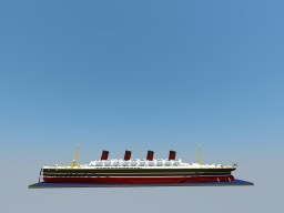 R.M.S Mastitania | Fictional 1912 Ocean Liner - CANCELLED Minecraft Project