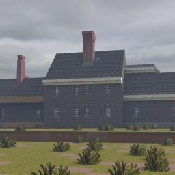 Swetland-Pease House, East Longmeadow, Massachusetts, USA. Minecraft Project