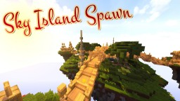 -=Sky Islands Spawn=- Minecraft Map & Project