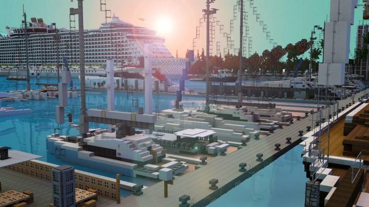 ForestCove Harbour - Render by Headshotwar