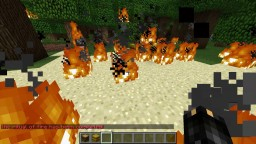 Ritual of Fire that makes fire rain from the sky Minecraft Project