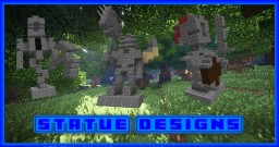 [1.8/1.9] 3 Castle Guard Statues Minecraft Map & Project