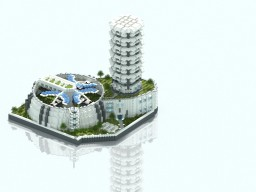 Anno 2205 inspired Biolab Minecraft Map & Project