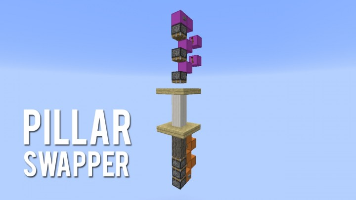 minecraft how to make a redstone block swapper