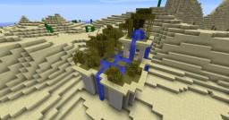 Desert oasis Minecraft Map & Project