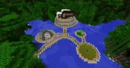 Modern jungle house Minecraft Map & Project