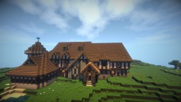 Tudor Style Mansion Minecraft Project