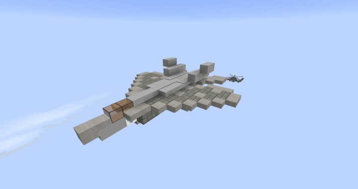 Lockheed Martin F 22 Raptor Updated Minecraft Project